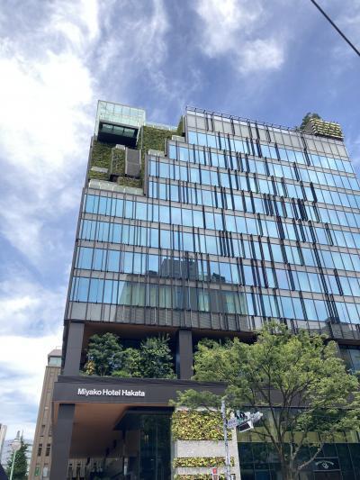三度目の正直で福岡へ 都ホテル博多に泊まる