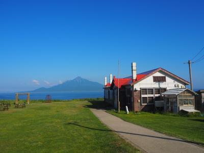 ANA特典航空券で行くさいはての地、稚内・憧れの利尻・礼文へ④礼文島到着、歩いて北のカナリアパークへ