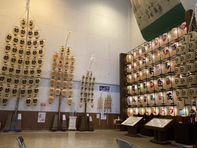 ANA A320国際線機材 プレミアムクラスで行く日帰り秋田☆久保田城・ねぶり流し館で竿灯体験