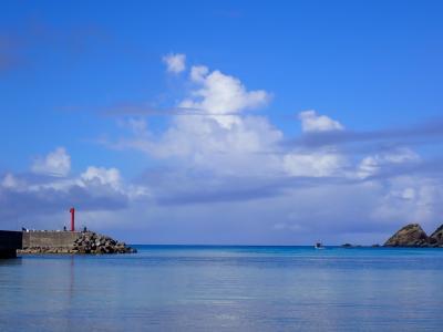 夏!沖縄 渡嘉敷島でのダイビングを終了して、那覇へ帰ります。