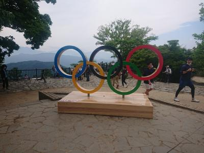 東京オリンピック(TOKYO2020)を楽しむ旅1(高尾山編)
