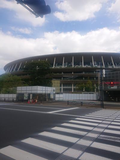 東京オリンピック(TOKYO2020)を楽しむ旅2(国立競技場・高幡不動・昭和記念公園)