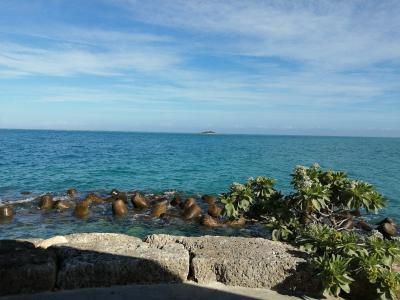 晴れの沖縄を満喫するため直前予約してみた結果、貸し切りで海水浴できた。