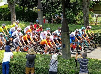団塊夫婦の東京オリンピック自転車ロードレース観戦記