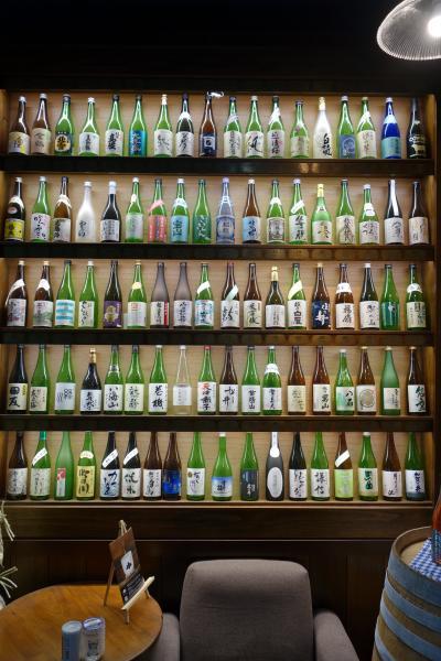 20210723-3 新潟 ぽんしゅ館の唎き酒番所93で新潟のポン酒の飲み比べ