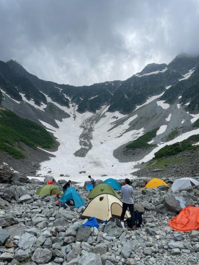 2021年 上高地・北穂高岳登山
