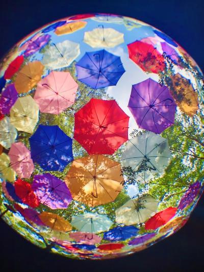 アンブレラスカイ♪地球に傘をさす♪