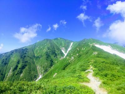 朝日連峰♪以東岳&大朝日岳(泡滝ダム~朝日鉱泉)