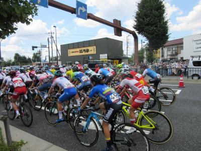 2021年7月25日:東京オリンピック 女子自転車ロードレースを観戦