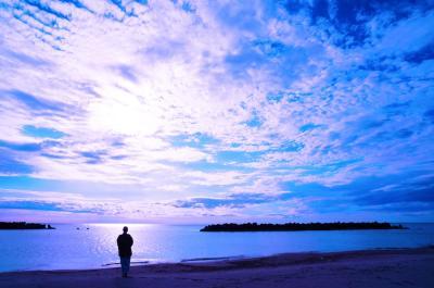 酒田三大滝で涼み旅。紫陽花乱舞の土門拳記念館。湯野浜いさごやで彩空を愉しむ。