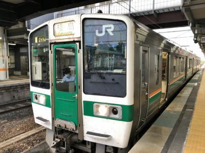 2021年7月青春18きっぷの旅6(奥羽本線 山形県後篇)