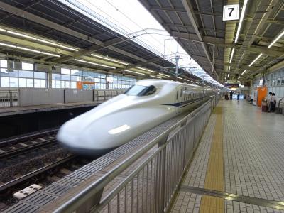 また再び、神奈川の西の方へ【その2】 大雄山線、根府川駅、「EXこだまグリーン早得」での分割併合