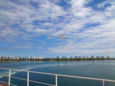 北海道旅行2021〈2〉フェリー「さんふらわぁ さっぽろ」の船内について