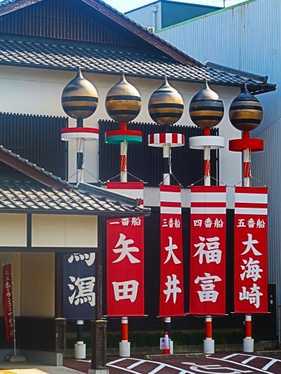 島根32 松江-9 ホーランエンヤ伝承館 10年毎の神幸祭 ☆豪華絢爛!櫂伝馬船の大行列