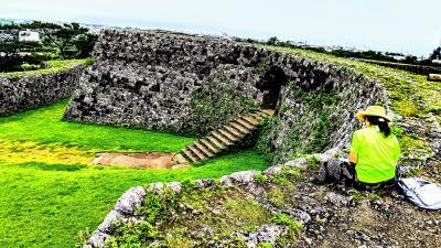 沖縄の城巡りと宮古島の島巡り:02座喜味城址