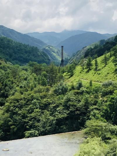足尾銅山は青かった。 @栃木県日光市