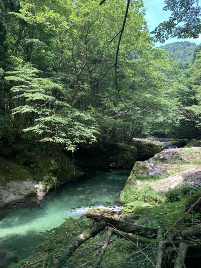 岩見三内の清流に行く3 (舟作)