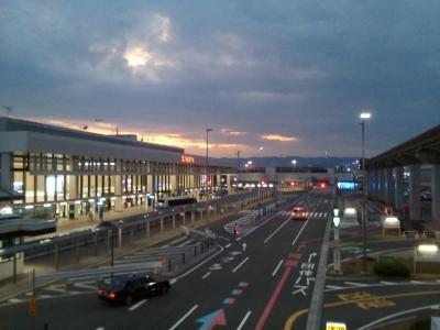 緊急事態宣言が始まる大阪へ。