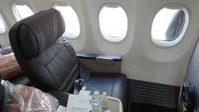 SQ736(SIN- HKT) ビジネスクラス機内食