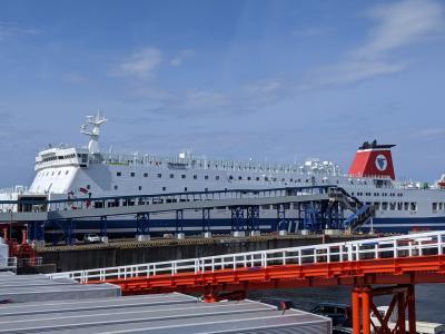 4連休に大分、福岡、山口、佐賀周遊3泊4日一人旅⑧/⑧復路は名門大洋フェリーの船旅