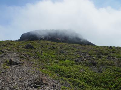 7月の4連休は、どこかにマイルで千歳へ(2.支笏湖第一寶亭留翠山亭と樽前山登山)