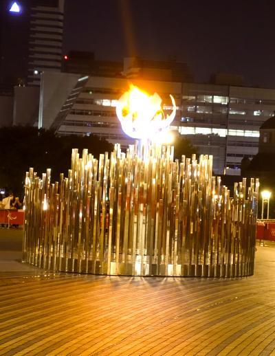 【東京良爺散歩 Tokyo Easy Sampo 真夏の江東区】夜の東京オリンピック2020・お台場の巻