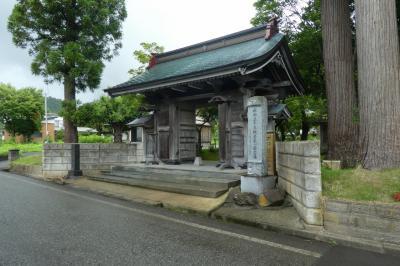 秋田第三十三観音霊場めぐり 第一番札所・第三番、第二番札所 に行く。