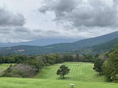 東富士カントリーでゴルフ~東急ハーベスト箱根翡翠宿泊