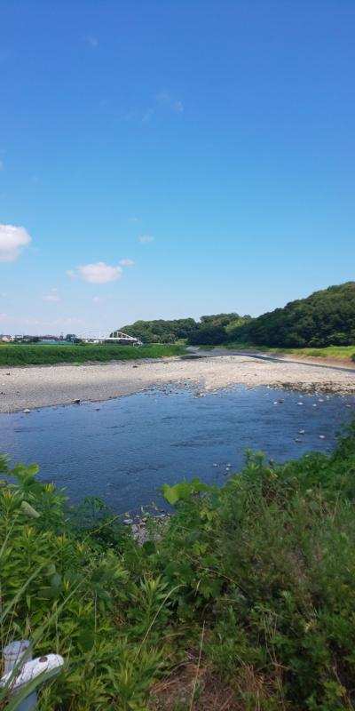 2021年8月 金目川で川遊び!