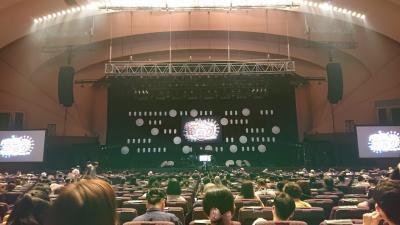 オリンピックの時期に横浜パシフィコにてコンサート♪