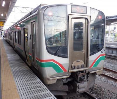 E AUG 2021  テツ旅・・・・・⑦磐越西線