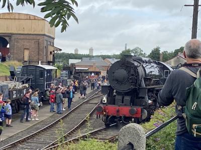 汽車にのりにDidcot Railway centreへ
