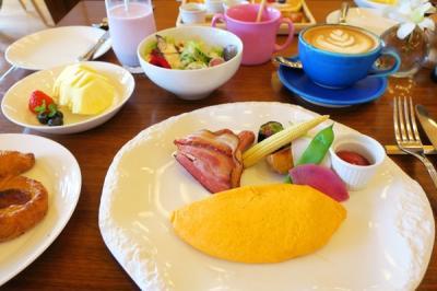 沖縄旅行2021春⑤:ハレクラニ沖縄の朝食