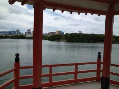 【福岡】 大濠公園をひとり、ひたすら歩く 【博多】