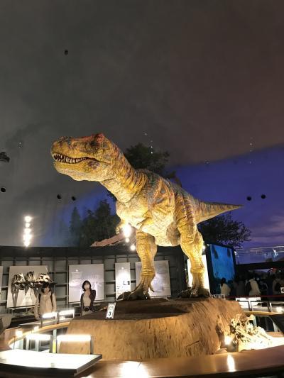 福井恐竜博物館の迫力~昭和ちっくな温泉と春のドライブ♪
