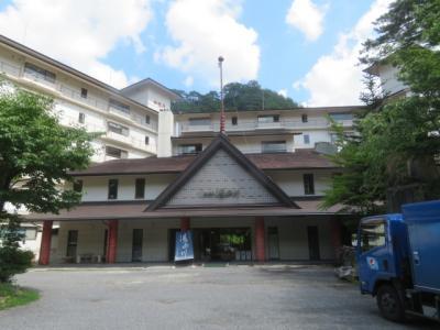 日光・湯西川温泉の「ホテル湯西川」に宿泊して温泉と食事を楽しむ