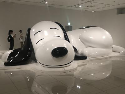 台風前のお買い物のついでにちょこっとスヌーピーミュージアムに寄り道!