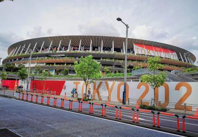 オリンピックに触れたくて。三井ガーデンホテル神宮外苑の杜プレミア