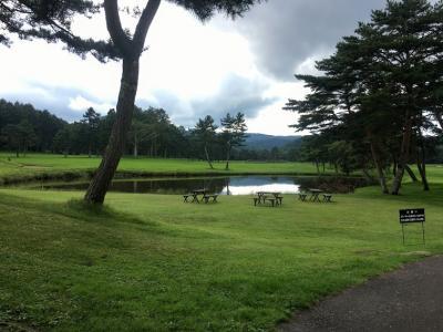 軽井沢でゴルフの旅!