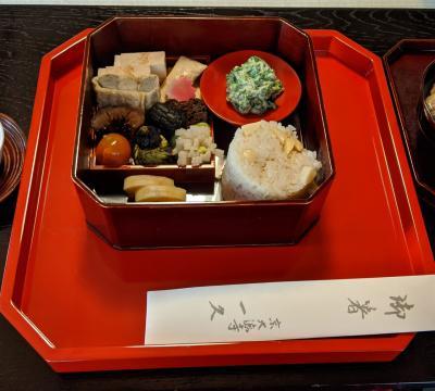 古くからの友人と京都巡り「大徳寺一久」にて