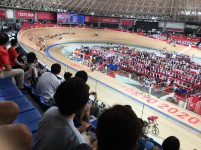 オリンピック自転車競技観戦ができました