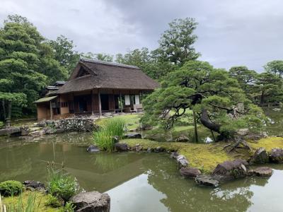 京都さんぽ 簡素だけれど格調高い桂離宮