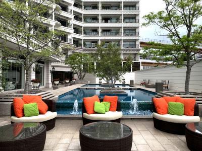 退院祝いで久し振りに「ホテル・ラ・スイート神戸ハーバーランド」に泊まったらやっぱり居心地良かったわー♪♪ラグジュアリーデラックスツインルーム