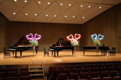 ピアノ教室の発表会 鎌倉芸術館・小ホール & 夏の菜園の様子 2021