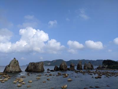 1泊2日和歌山旅行(南紀白浜~串本~那智勝浦)②/④橋杭岩