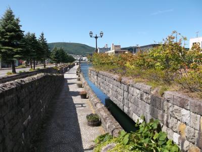 北海道の旅8日間 ① 初日は暑い小樽から