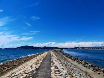 緊急事態宣言下ですが、和歌山の和歌浦近辺で海水浴など