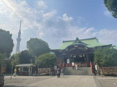 亀戸寺社巡り