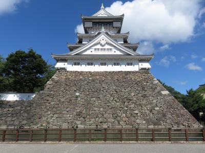 2021JUL「東京九州フェリー【はまゆう】に乗るだけの北九州一人旅」(3_小倉城へ朝散歩)