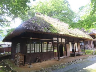 日光・湯西川温泉の「復元・平家の里」を見学しました